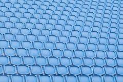 Blue seat in sport stadium Royalty Free Stock Photo