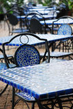 Blue Seats Royalty Free Stock Photos