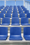 Blue Seats Stock Images