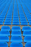 Blue Seats Royalty Free Stock Photography