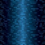 Blue security background with HEX-code Stock Photo