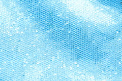 Blue sequin background. Blue sequins background great details Royalty Free Stock Photo