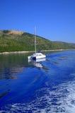 Blue serenity holiday Stock Photos