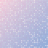 Blue serenity and pink rose quartz gradient background of multiples dots. Fashion trends circles backdrop. Vector illustration. May use for modern background Royalty Free Stock Photo