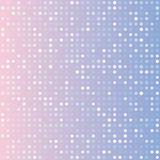 Blue serenity and pink rose quartz gradient background of multiples dots. Fashion trends circles backdrop. Vector illustration. May use for modern background Royalty Free Stock Images