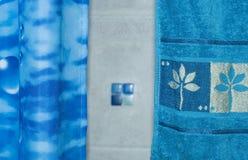 Blue set Stock Photos