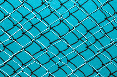 Blue shade background of network wire Stock Photography