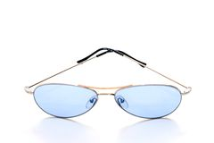 Blue shades royalty free stock image