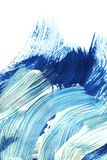 Blue shades painting stock images