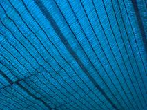 Blue shading net texture Royalty Free Stock Photo