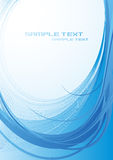 Blue_shape_background Royalty Free Stock Photography