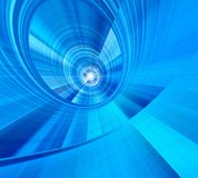 Blue shape. Star royalty free stock image