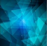 Blue shapes Background Stock Photo
