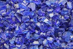 Blue shards Stock Photo