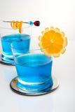 Blue shark cocktail Stock Photo