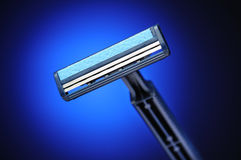 Blue shaver Stock Photos