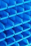 Blue shelf pattern Royalty Free Stock Photography