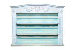Blue shelf Royalty Free Stock Photo
