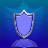 Blue Shield Stock Photo