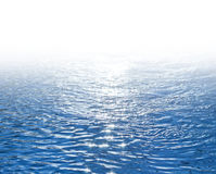 Blue Shimmering Seawater Background Royalty Free Stock Images