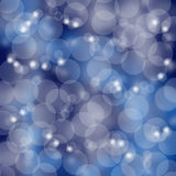 Blue shine blur bokeh abstract Stock Photos