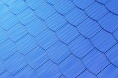 Blue shingles background Royalty Free Stock Photo