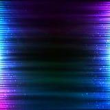 Blue shining technology lights sound background Royalty Free Stock Image
