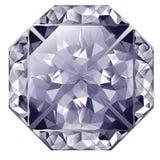 Blue Shiny Diamond Stock Photography