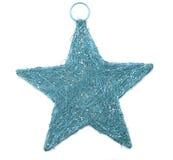 Blue shiny star