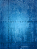 Blue ship texture. Blue ship plate texture ideal for backgrounds royalty free stock photos