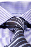 Blue shir macro Stock Photo