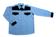 Blue  shirt Royalty Free Stock Photo