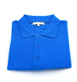 Blue shirt Stock Images