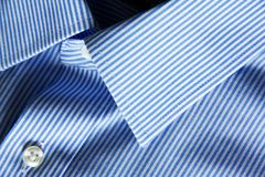 Blue shirt Stock Image