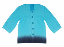 Blue shirt Royalty Free Stock Images