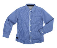 Blue shirt Stock Photo