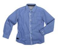 Blue shirt Stock Photo