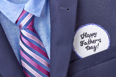 Blue shirt and necktie. Royalty Free Stock Photos