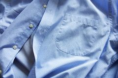 Blue shirt Royalty Free Stock Photos