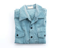 Blue shirt Royalty Free Stock Photo