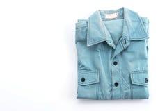 Blue shirt Stock Photos