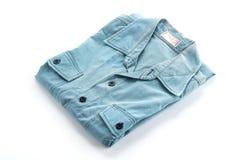 Blue shirt Royalty Free Stock Photography