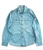 Blue shirt Royalty Free Stock Photos