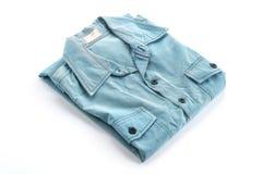Blue shirt Stock Image