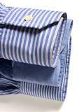 Blue shirts Royalty Free Stock Images