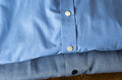 Blue Shirts Stock Image