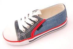 blue shoe Стоковое Фото