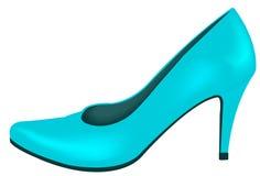 Free Blue Shoe, Fashion Stock Image - 126287821