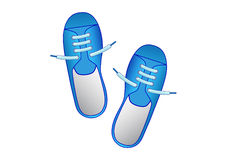 Free Blue Shoes Royalty Free Stock Images - 14231739