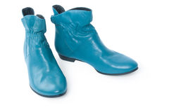 Blue shoes Royalty Free Stock Photography